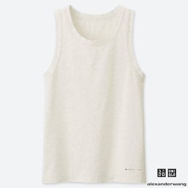 MEN AIRism TANKTOP (ALEXANDER WANG), OFF WHITE, medium