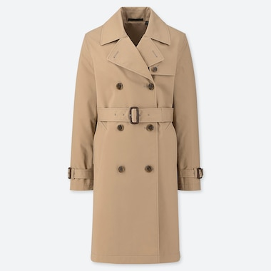 WOMEN TRENCH COAT (ONLINE EXCLUSIVE), BEIGE, medium