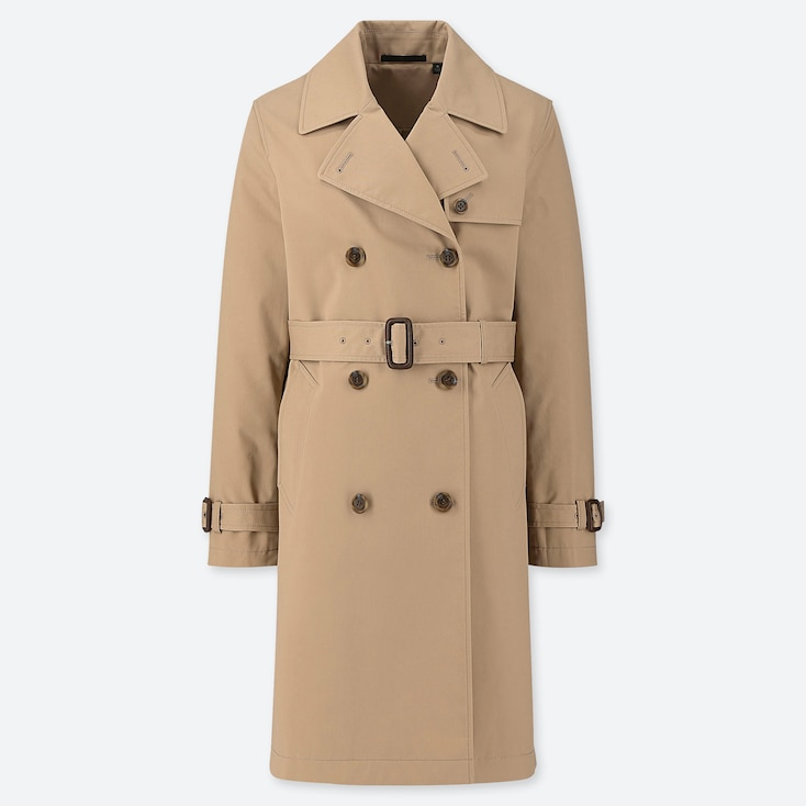 WOMEN TRENCH COAT (ONLINE EXCLUSIVE), BEIGE, large