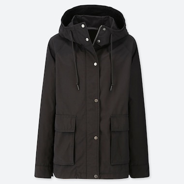 WOMEN OVERSIZED HOODED PARKA