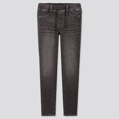 MÄDCHEN ULTRA STRETCH HOSE IN JEANSOPTIK (SKINNY FIT)