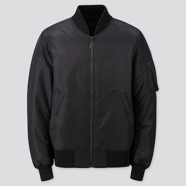 MEN MA-1 BLOUSON, BLACK, medium