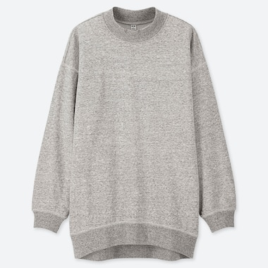 WOMEN MOCK NECK SWEATSHIRT