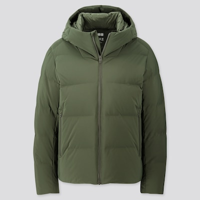 Men Seamless Down Hooded Parka  (7) by Uniqlo
