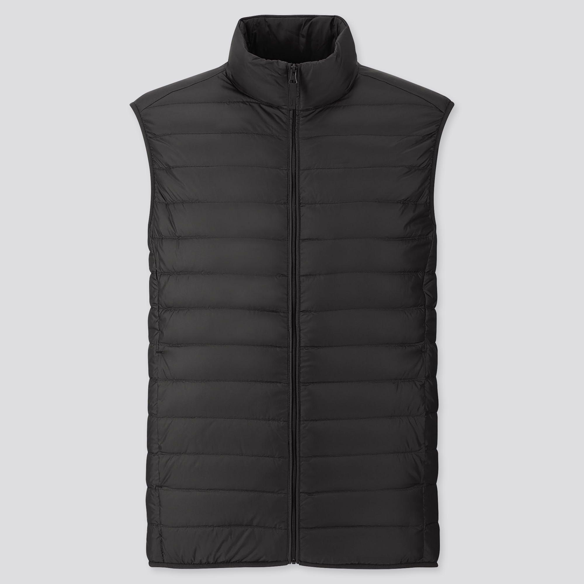 MEN ULTRA LIGHT DOWN VEST : Color - 08 Dark Gray, Size - S (419993)