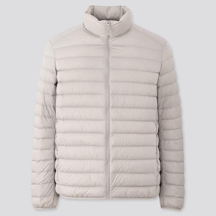 Men Ultra Light Down Jacket (2020 Edition), Light Gray, Large