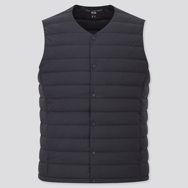MEN ULTRA LIGHT DOWN COMPACT VEST, NAVY, large