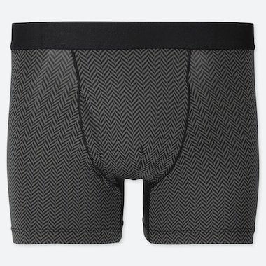 MEN AIRISM PRINTED BOXER SHORTS