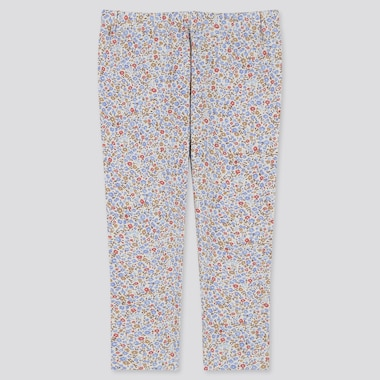 BABIES TODDLER JACQUARD FLORAL PRINT LEGGINGS