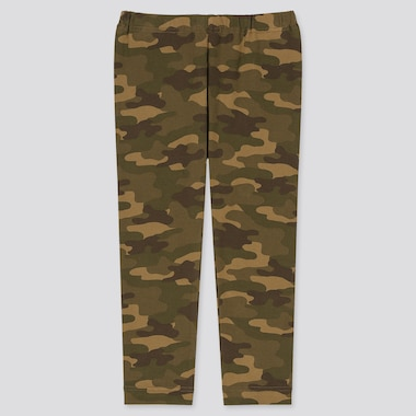 BABIES TODDLER CAMOUFLAGE PRINT LEGGINGS