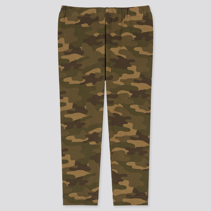 Baby Full-Length Leggings, Olive, Large