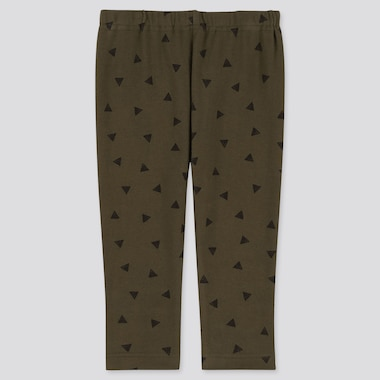 Baby Full-Length Leggings, Olive, Medium