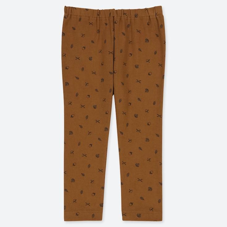 TODDLER LEGGINGS, BROWN, large