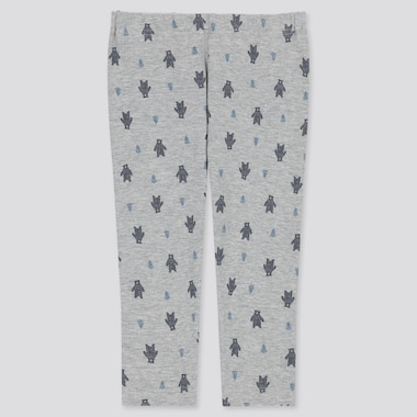 BABIES TODDLER BEAR PRINT LEGGINGS