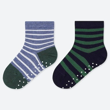 BABY SOCKS (2 PAIRS), BLUE, medium