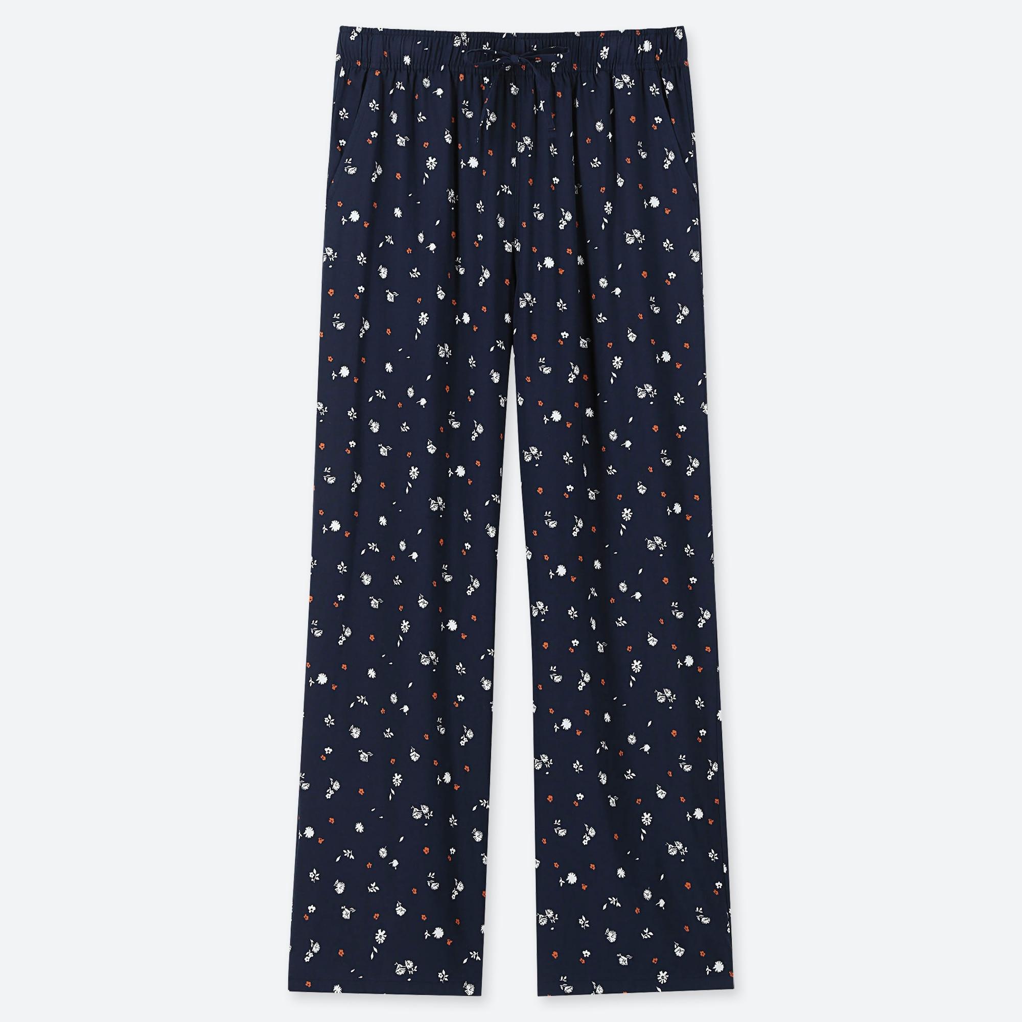 WOMEN DRAPE STRAIGHT PANTS