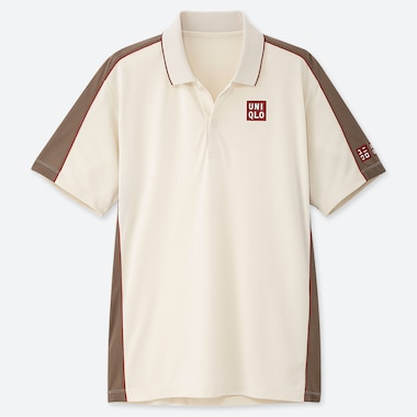 MEN ROGER FEDERER FRENCH OPEN 19 DRY-EX POLO SHIRT