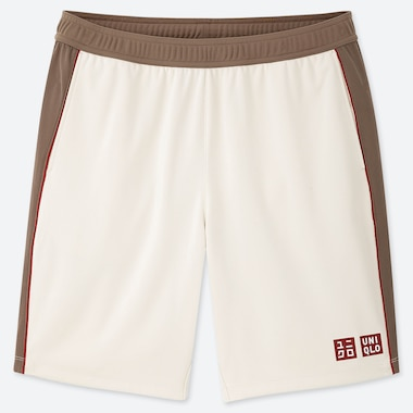 MEN DRY SHORTS (ROGER FEDERER 19FRA), OFF WHITE, medium