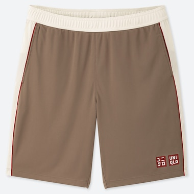 MEN DRY SHORTS (ROGER FEDERER 19FRA), BEIGE, medium