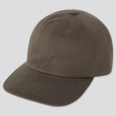 COTTON TWILL CAP, OLIVE, medium