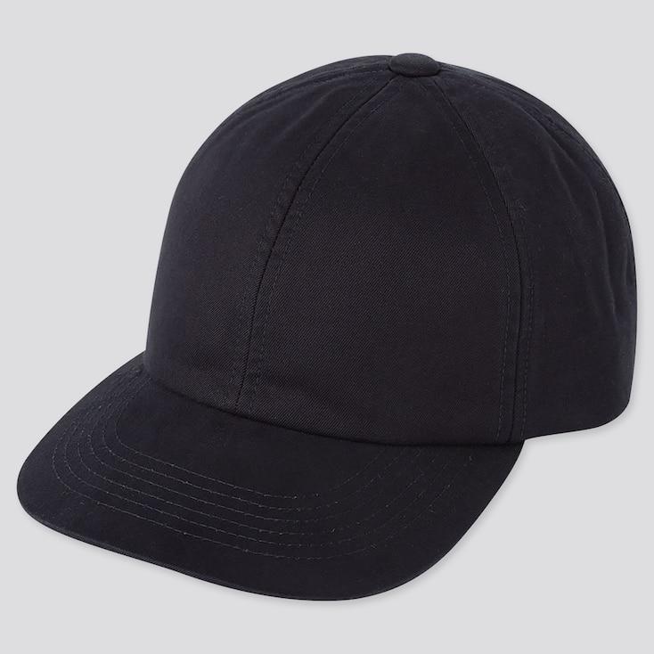 COTTON TWILL CAP, NAVY, large