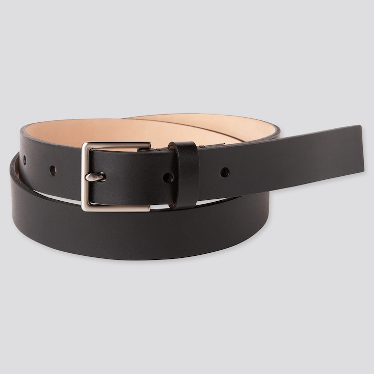 Women Clean Belt, Black, Large
