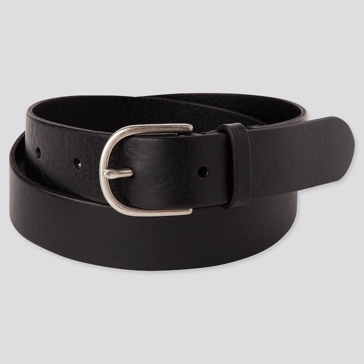 Women Vintage Belt, Black, Large