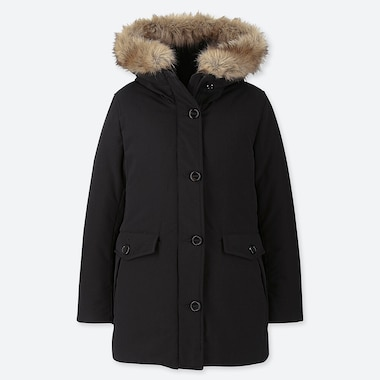 WOMEN HYBRID DOWN ULTRA WARM COAT