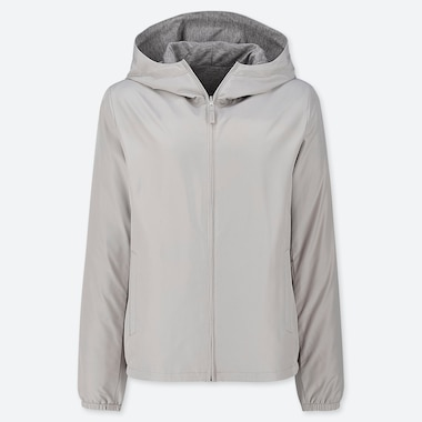 WOMEN REVERSIBLE PARKA (ONLINE EXCLUSIVE), GRAY, medium