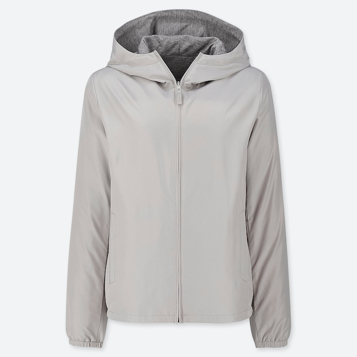 WOMEN REVERSIBLE PARKA (ONLINE EXCLUSIVE), GRAY, large