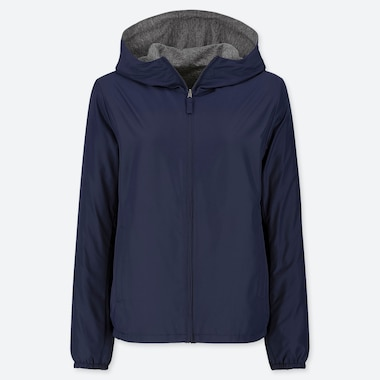 WOMEN REVERSIBLE PARKA (ONLINE EXCLUSIVE), NAVY, medium