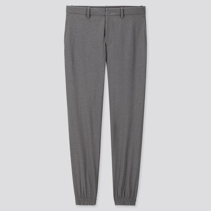 MEN EZY JOGGER PANTS, GRAY, large