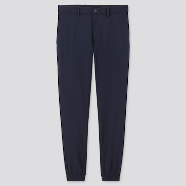 MEN EZY JOGGER PANTS, NAVY, medium