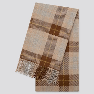 HEATTECH CHECKED SCARF