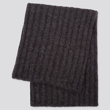 HEATTECH SNOOD, DARK GRAY, medium