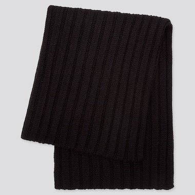 HEATTECH SNOOD, BLACK, medium