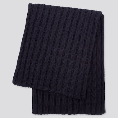 Heattech Snood, Navy, Medium