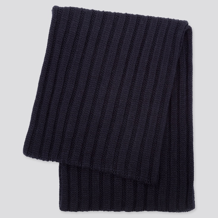 HEATTECH SNOOD, NAVY, large