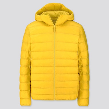 MEN ULTRA LIGHT DOWN PARKA, YELLOW, medium