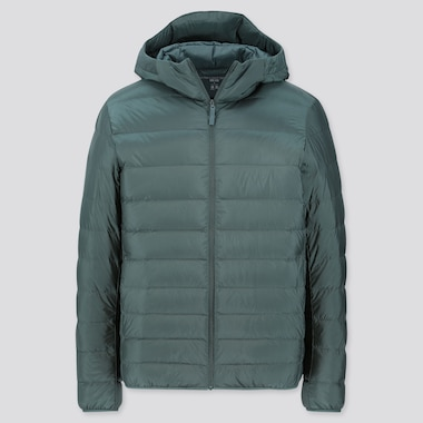MEN ULTRA LIGHT DOWN PARKA, DARK GREEN, medium