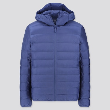 MEN ULTRA LIGHT DOWN PARKA, BLUE, medium