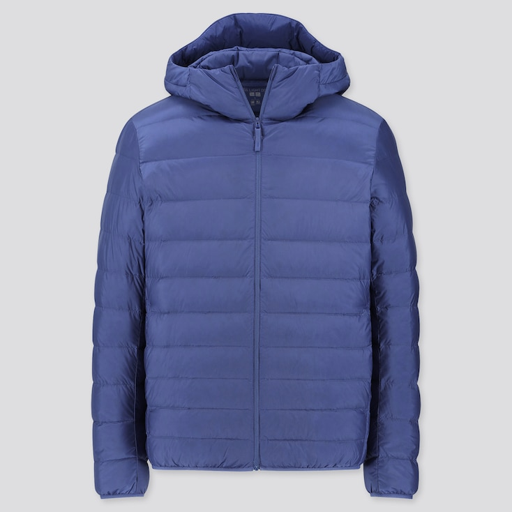 MEN ULTRA LIGHT DOWN PARKA, BLUE, large