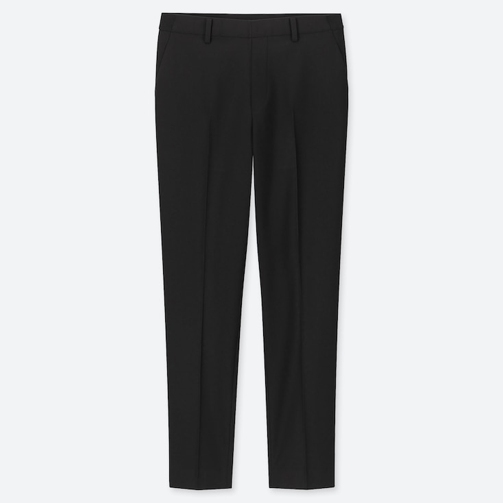 Women Ezy Ankle-Length Pants, Black, Large