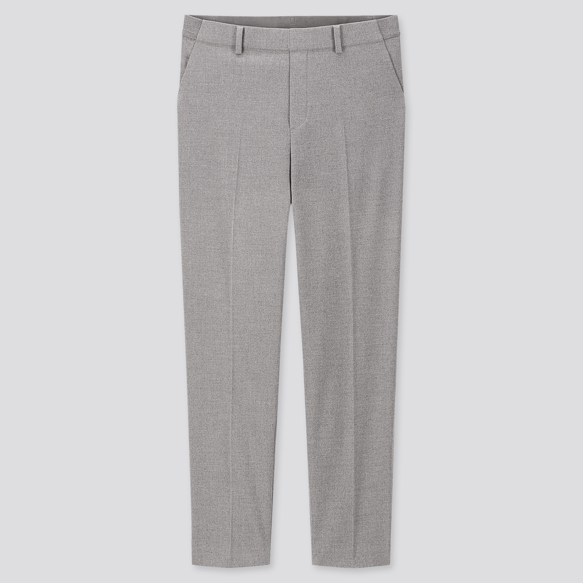Women Smart Brushed Ankle Length Trousers