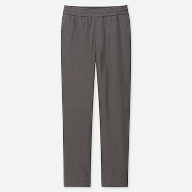 WOMEN WINDPROOF EXTRA WARM-LINED PANTS, DARK GRAY, medium