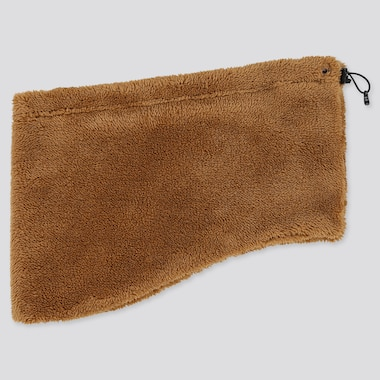 MEN HEATTECH FLUFFY FLEECE NECK WARMER