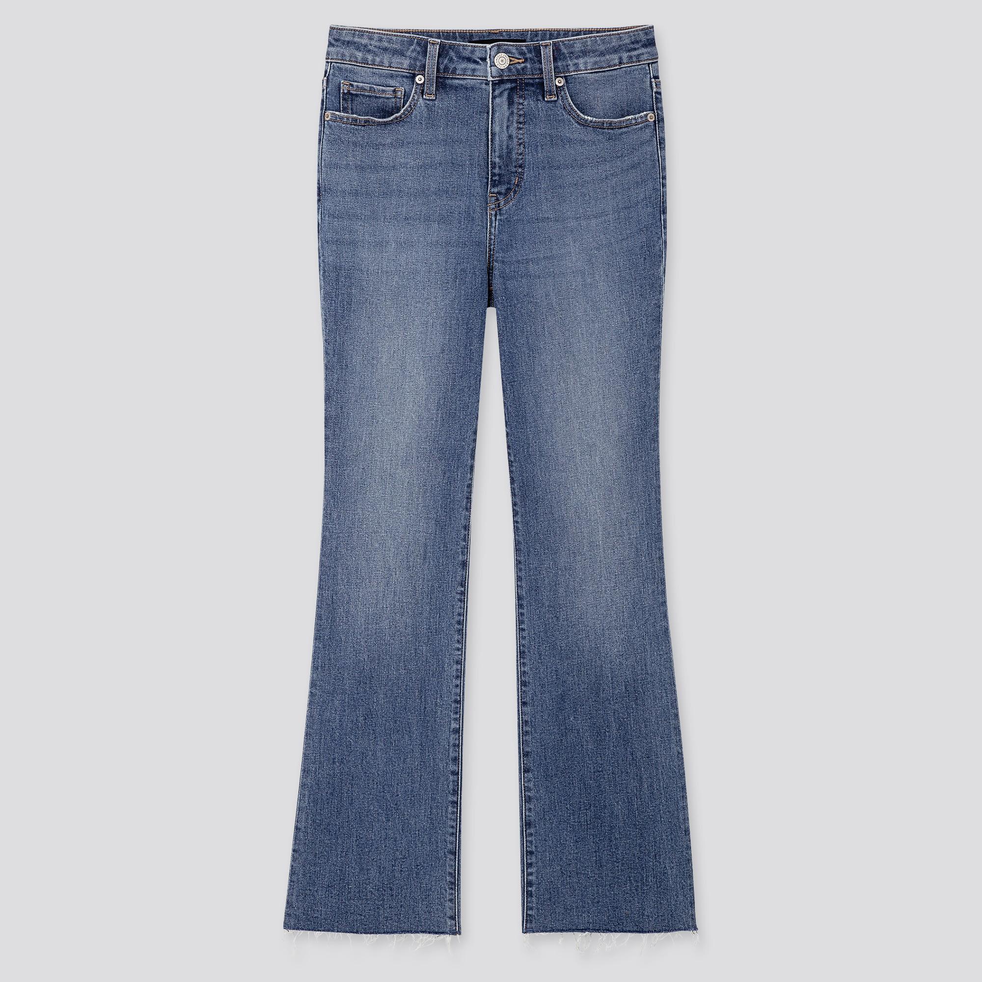 scegli il meglio prezzo ridotto aspetto dettagliato WOMEN HIGH-RISE SKINNY FLARE ANKLE JEANS
