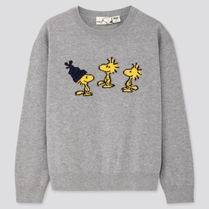 Peanuts Crew Neck Long-Sleeve Sweater/us/en/420497.html