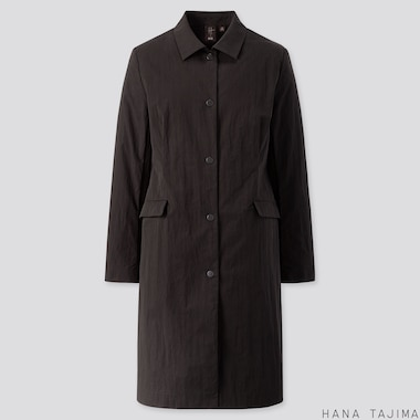 WOMEN COAT (HANA TAJIMA), BLACK, medium