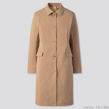 WOMEN COAT (HANA TAJIMA), BEIGE, medium